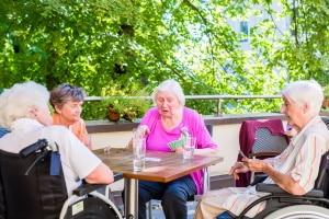 Die Bewohner der Demenzwohngruppen bzw. deren Vertreter sind die Mieter der Räume.