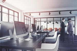Ein Gewerbemitvertrag wird üblicherweise für Geschäftsräume bzw. Gebäude mit gewerblicher Nutzung geschlossen.