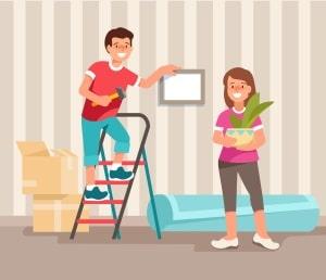 Die Hausordnung kann das Bohren und Hämmern nicht untersagen, aber vorgeben, in welchen Zeiten dies erlaubt ist.