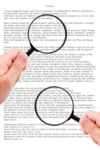 Wird für die Kündigung von einem Mietvertrag wegen Eigenbedarf ein Muster verwendet, sollte es überprüft werden.