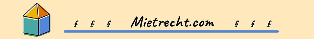 Das Bild ist das Logo der Ratgeberseite www.mietrecht.com.