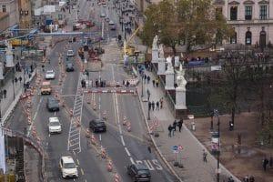 Einzelfallentscheidung: die Höhe der Mietminderung wegen Baulärm beim Straßenbau.
