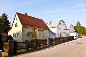 Teilkauf: Das Haus bleibt Eigentum des Verkäufers.