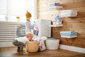 Die Waschmaschine darf am Sonntag laufen, wenn sich die Geräusche im Rahmen halten.